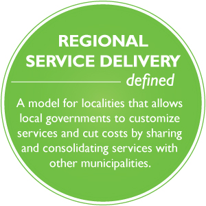Solving Local Government Challenges: Regional Service Delivery