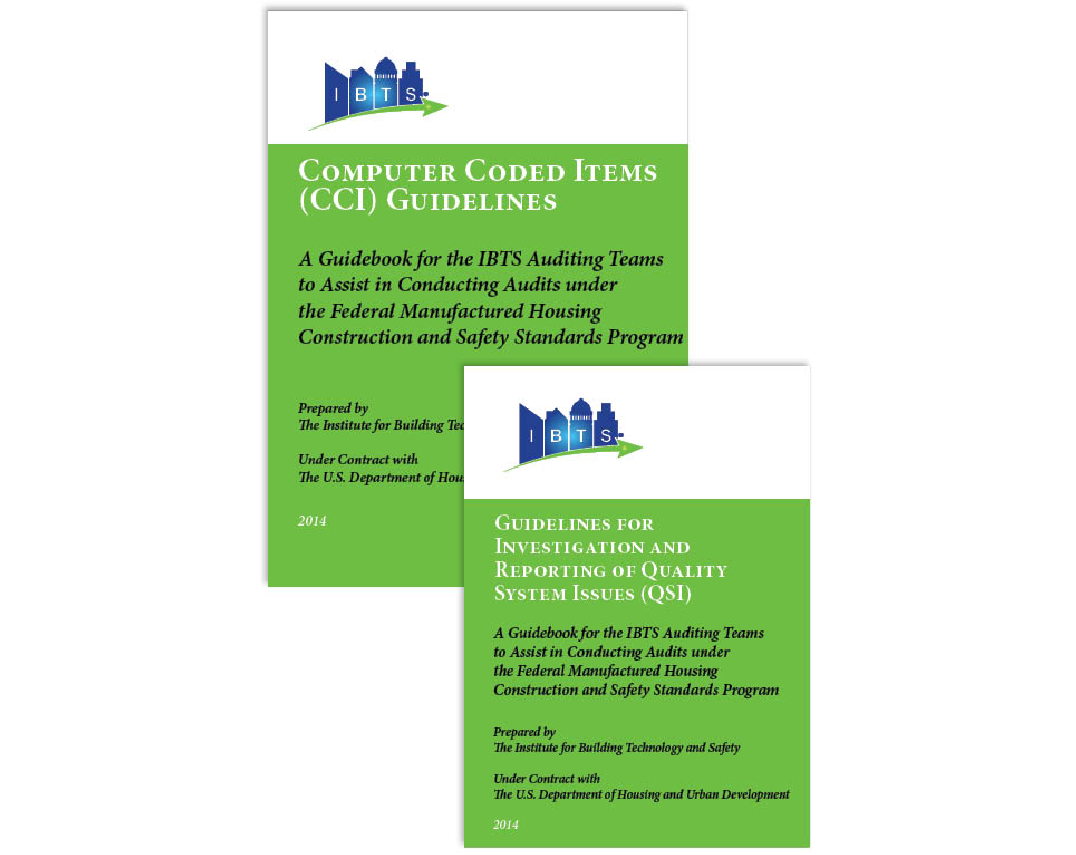 Computer Coded Items (CCI) Guideline and Guideline for Investigation and Reporting of Quality System Issues (QSI)