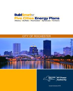 The City of Rochester, New York, completed an Energy Plan in January 2015