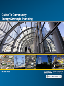 The DOE's Guide to Community Energy Strategic Planning (CESP)