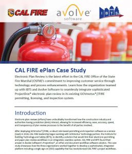 Cover image from CAL FIRE ePlan Case Study